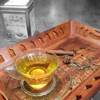 White tea with Indian spices, How to make White tea with Indian spices