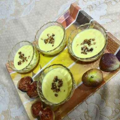 Photo of Saffron and Cardamom Rice Cream by Chetna Parikh at BetterButter