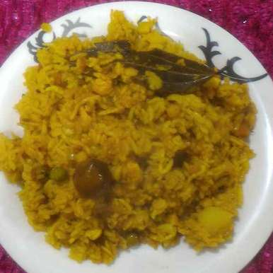 Photo of Masala Khichdi in Bisibelebath style by Chetna Parikh at BetterButter