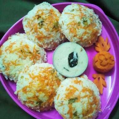 Photo of Carrot idli by Chinnaveeranagari Srinivasulu at BetterButter