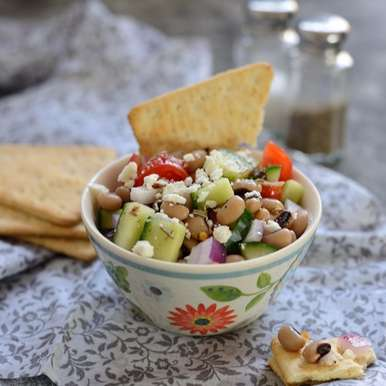 Black eyed bean salad (Lobia salad), How to make Black eyed bean salad (Lobia salad)