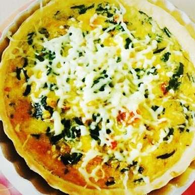 Photo of Spinach Chicken Quiche by Aarti Nijapkar at BetterButter