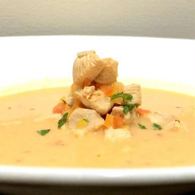 Photo of Chicken soup with Lemongrass  (Tom Kha kai) by Chef (Mrs) Reetu Uday Kugaji at BetterButter