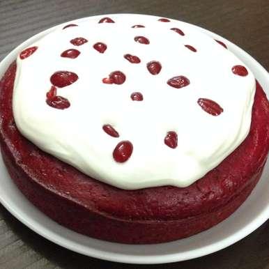 Photo of Red Velvet Apple Cake by Mehak Joshi at BetterButter