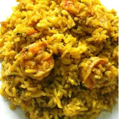 SPICY PRAWN RICE, How to make SPICY PRAWN RICE