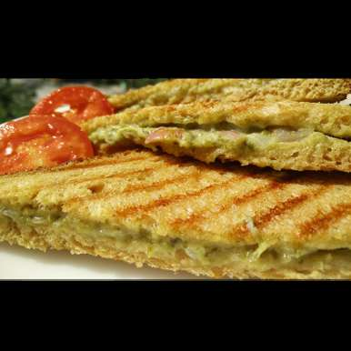 Photo of Grilled Green Mayo Sandwich by Suhan Mahajan at BetterButter