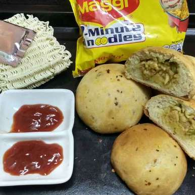 Photo of Maggi Masala Buns by Daisy Gahle at BetterButter