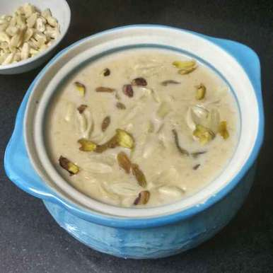 Rice Kheer recipe in Gujarati, ચોખાની ખીર , Daisy Gahle