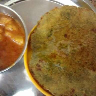 Photo of Palak Roti by Darshna Jain at BetterButter