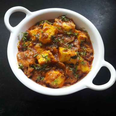 Photo of Dhabe style paneer masala by Debomita Chatterjee at BetterButter