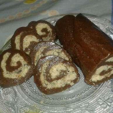Photo of No Bake Swiss roll by Deepa Garg at BetterButter