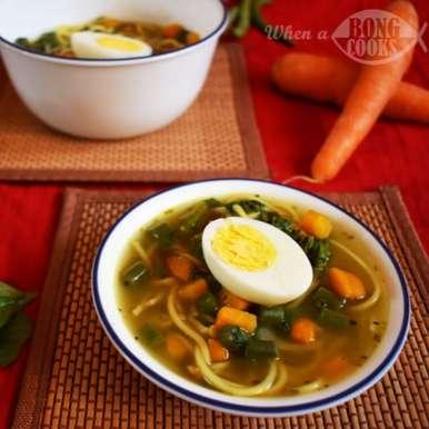 Photo of Thukpa (Tibetan Noodle Soup) by Deepsikha Chakraborty at BetterButter