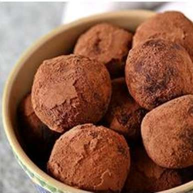 Photo of Dark Chocolate Prune Truffles by Del Monte at BetterButter