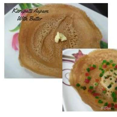 Photo of Karupatti Aapam - Palm Jaggery Aapam by Devi Bala Chandrasekar at BetterButter