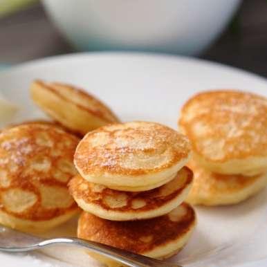 Photo of Poffertjes (Dutch Mini Pancakes) by Deviyani Srivastava at BetterButter