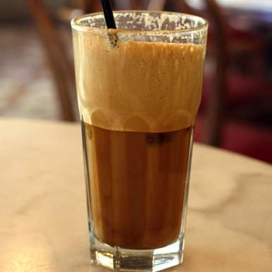Photo of Greek Coffee (Frappe) by Deviyani Srivastava at BetterButter