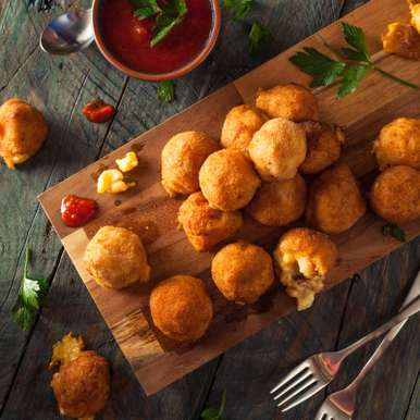 Photo of Fried Macaroni and Cheese Bites by Deviyani Srivastava at BetterButter