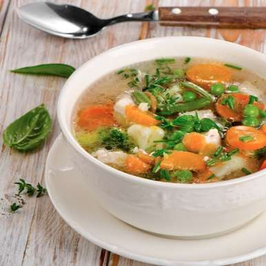 Photo of Clear Vegetable Soup by Deviyani Srivastava at BetterButter