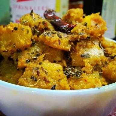 Photo of Pumpkin sabji by debashri chatterji at BetterButter