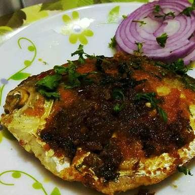 Photo of Pomfret Masala fry by debashri chatterji at BetterButter