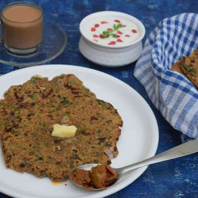 Multigrain seeds masala paratha recipe in Hindi,मल्टीग्रेन  सीड्स मसाला परांठा, Dhara joshi