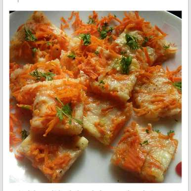 Photo of Cheesy carrot dhokla by Dhara joshi at BetterButter