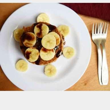 Photo of Banana smoothie pancakes by Dhara joshi at BetterButter