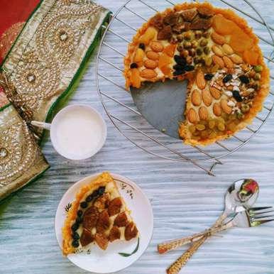 Photo of Carrot Barfi Pie by Dhara Shah at BetterButter