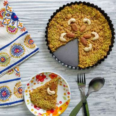 Photo of Milk cake with twist by Dhara Shah at BetterButter