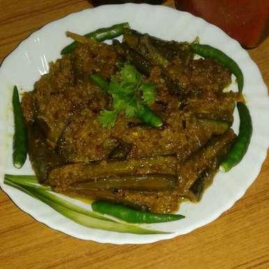 Vapa begun recipe in Bengali,ভাপা বেগুন, Dipa Bhattacharyya