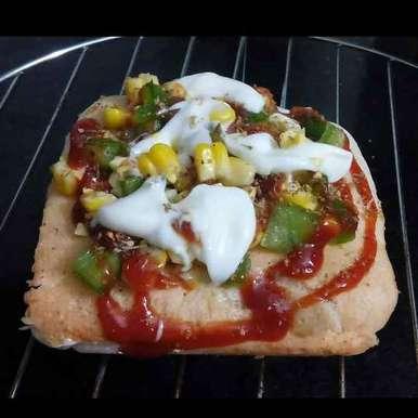 Photo of Bread Pudla Pizza by Dipika Ranapara at BetterButter