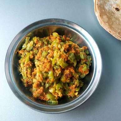 Photo of Galka besan nu shaak by Dipika Ranapara at BetterButter