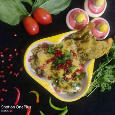Photo of Spinach chaat by Disha Chavda at BetterButter