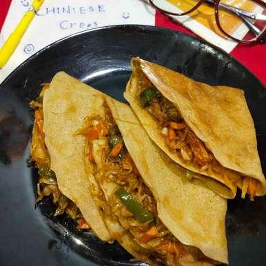 Healthy Chinese creps recipe in Gujarati, ચાઇનીઝ ક્રેપસ, Divya Chetnani