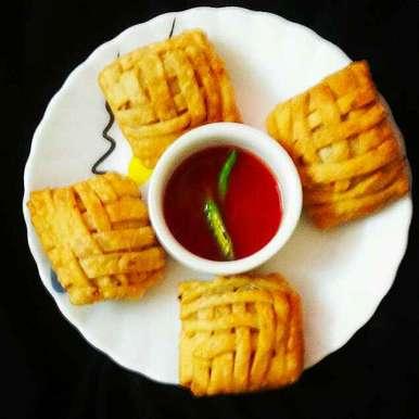 MUTTON PUFF recipe in Bengali,মটন পাফ, DrAmita Debnath Das