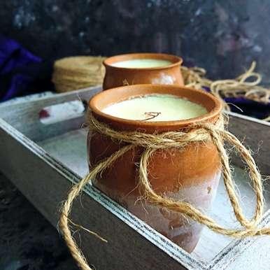 Photo of No-Cook 4 Ingredients Kesar Kulfi by Drashti Dholakia at BetterButter
