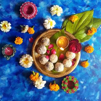 Photo of Stuffed Paan Coconut Ladoo by Drashti Dholakia at BetterButter