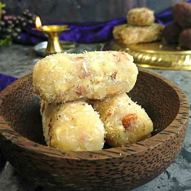 Photo of Coconut Dry Fruit Rolls by Drashti Dholakia at BetterButter