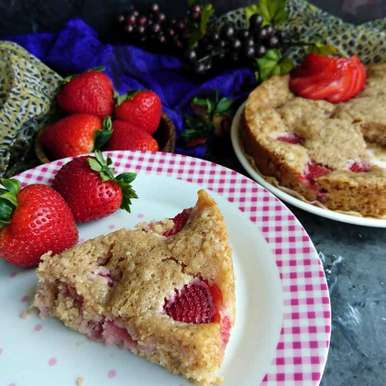 Photo of Eggless Double Strawberry Cake by Drashti Dholakia at BetterButter