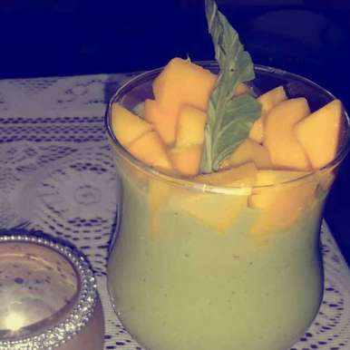 Photo of Spinach mango smoothie by Durgesh Srivastava at BetterButter