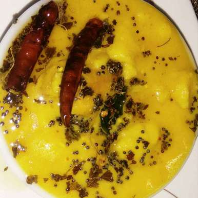 Photo of Besan kadhi by Durgesh Srivastava at BetterButter