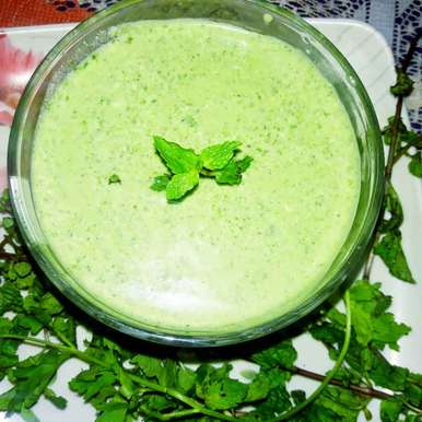 Photo of Green Dip by Ekta Sharma at BetterButter