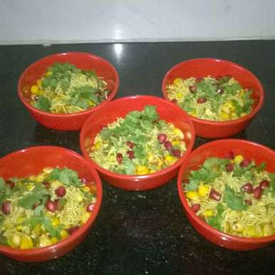 Photo of Corn Bhel by Esther Samuel at BetterButter