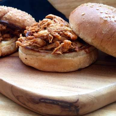 Photo of Pulled BBQ chicken sliders by Evani Singh at BetterButter