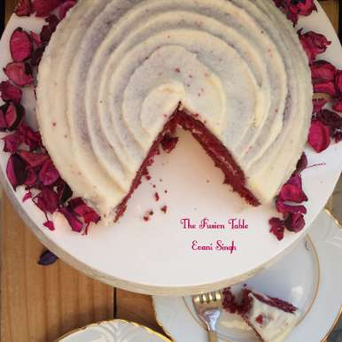 Photo of Red Velvet Cheesecake by Evani Singh at BetterButter