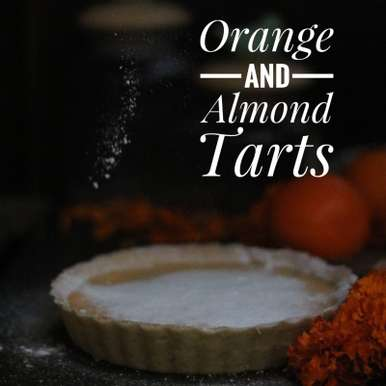 Photo of Orange And Almond Tarts   by Evani Singh at BetterButter