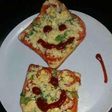 Photo of Bread pizza by Farheen Shaikh at BetterButter