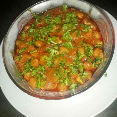 Photo of Spicy chole by Farheen Shaikh at BetterButter