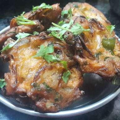 Onion vada recipe in Tamil,வெங்காய வடை, Fathima Beevi  Hussain