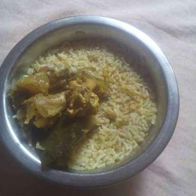 Mutton Elumbu rice recipe in Tamil,மட்டன் எலும்பு ரைஸ், fathima razeeth